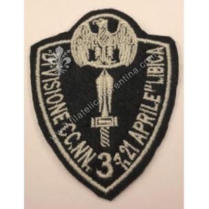Distintivo 3^ Divisione CC....