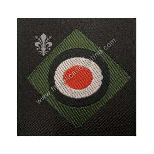 Coccarda WH - fondo verde