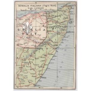 "Cartina Geografica ""Somalia..."