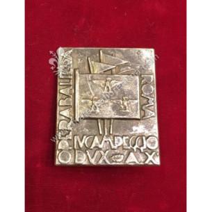 Distintivo del IV Campeggio...