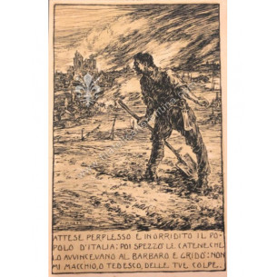 Cartolina militare 1918 -...