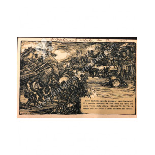Cartolina militare 1918...