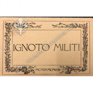 Cartolina militare IGNOTO...