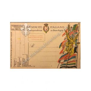 Cartolina militare Regio...