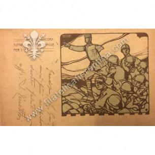 Cartolina militare LIBERTY...