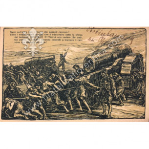 Cartolina Militare GUERRA -...