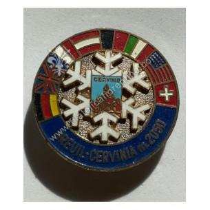 Distintivo monte Cervino -...