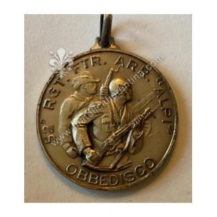 Medaglia del 52° Reggimento...