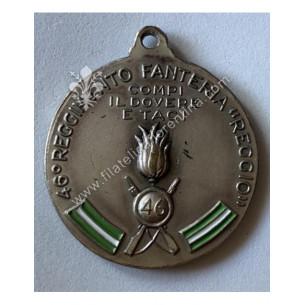 Medaglia del 46° Reggimento...
