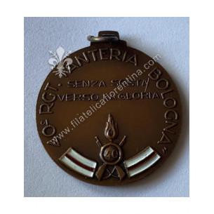Medaglia del 40° Reggimento...