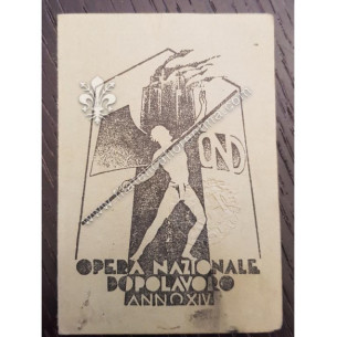 Opera Nazionale Dopolavoro...