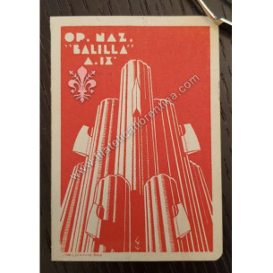 Opera Nazionale Balilla -...
