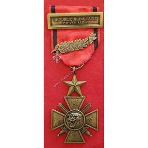 ZAIRE - Croce di Guerra con...