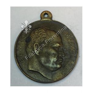 Medaglia Benito Mussolini -...