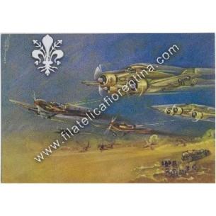 Cartolina Sparvieri S.M. 79...