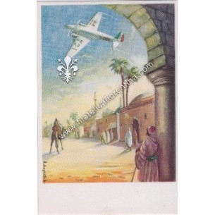 Cartolina Aeroplani Caproni...