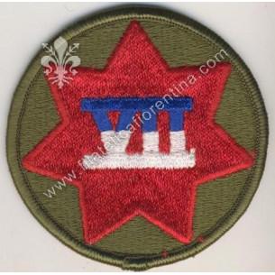 7° corps ( rosso su fondo...