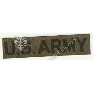 """Scritta """"US Army"""" nero su..."""
