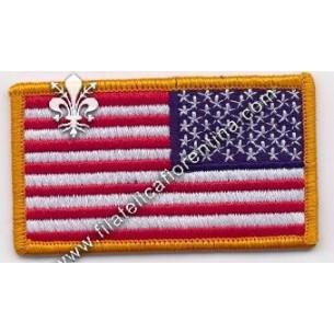 Bandiera USA da spalla...