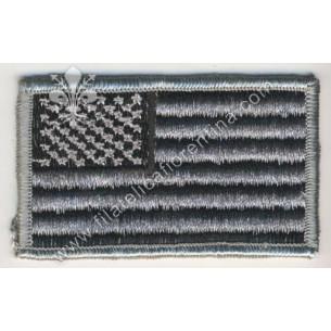 Bandiera USA da spalla su...