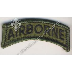 """Scritta spalla """"Airborne""""..."""