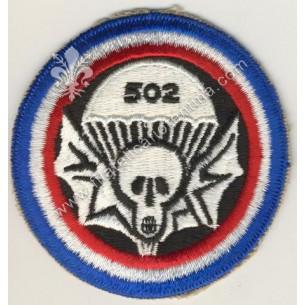 502 airborne infantry skull