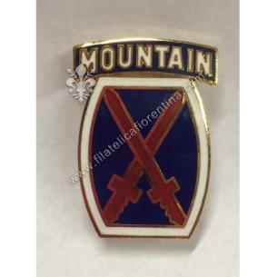 "Crest 10° divisione ""mountain"""