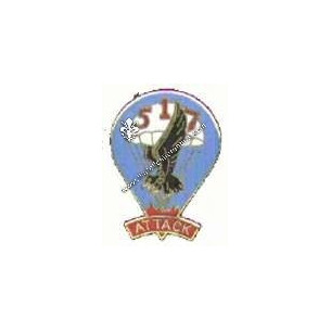 Crest 517° infantry rgt