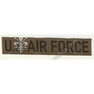 """Scritta """"air force"""" nero su..."""
