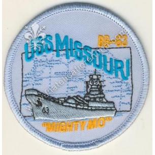 """USS Missouri BB-63 """"Mightymo"""""""