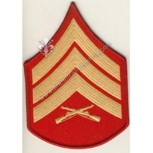 Gradi sergente giallo-rosso