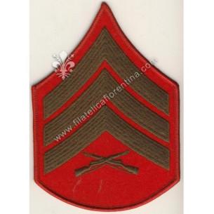 Gradi Sergente verde-rosso