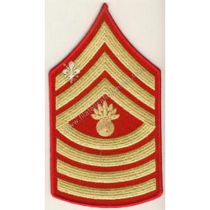 Gradi Major Gunner Sergent...