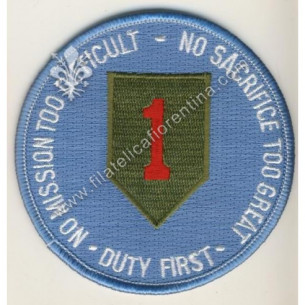 "Duty 1st division Vietnam ""..."
