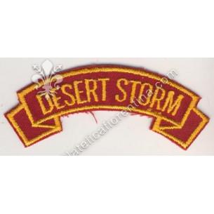 """Desert Storm"" giallo su..."