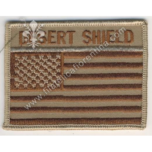"Bandiera USA ""Desert Shield"""