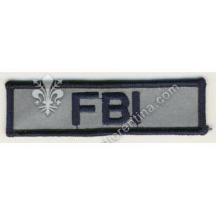 """Scritta """"FBI"""" da petto"""