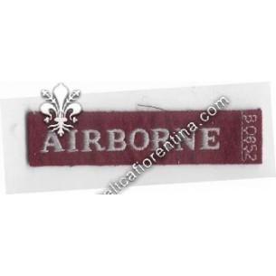 Scritta da spalla AIRBORNE