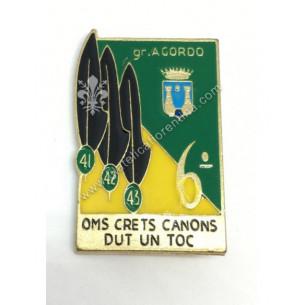 Distintivo del 6° Gruppo...