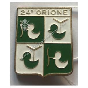 Distintivo del 24° Orione -...