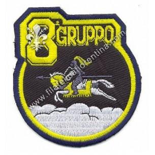 Distintivo dell' 8° Gruppo....