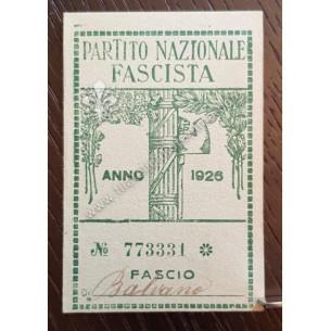 Partito Nazionale Fascista...