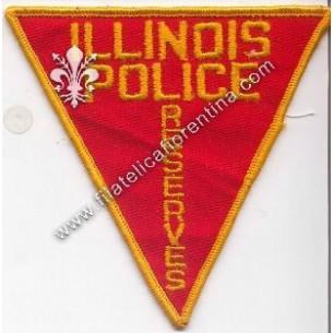 """Distintivo """"Illinois Police..."""