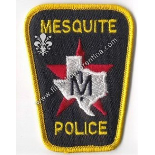 "Distintivo ""Mesquite Police"""