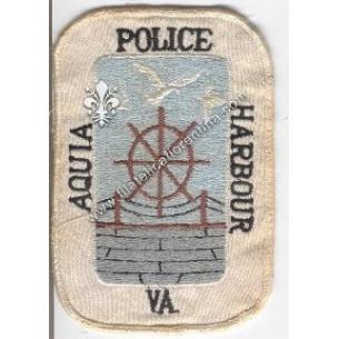 "Distintivo ""Police Aquia..."