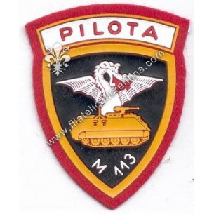 Distintivo PILOTA M113