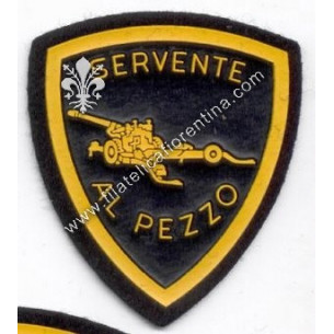 Distintivo SERVENTE AL PEZZO