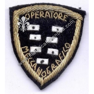 Distintivo OPERATORE...