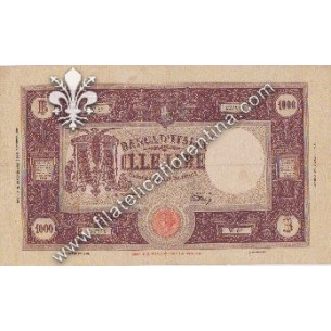 Carta moneta LIRE MILLE -...