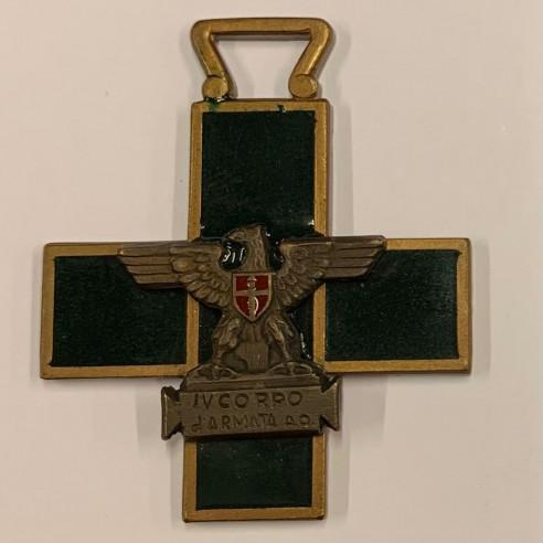 Medaglia a croce IV Corpo d'Armata A.O.
